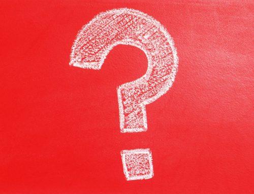 Rotes Fragezeichen an Ihren E-Mails?