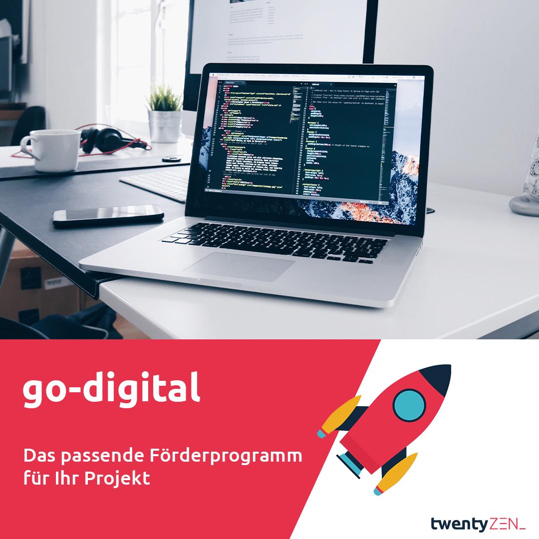 go-digital - Förderprojekt für die Digitalisierung